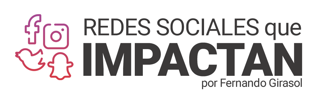 Logo Redes Sociales que Impactan
